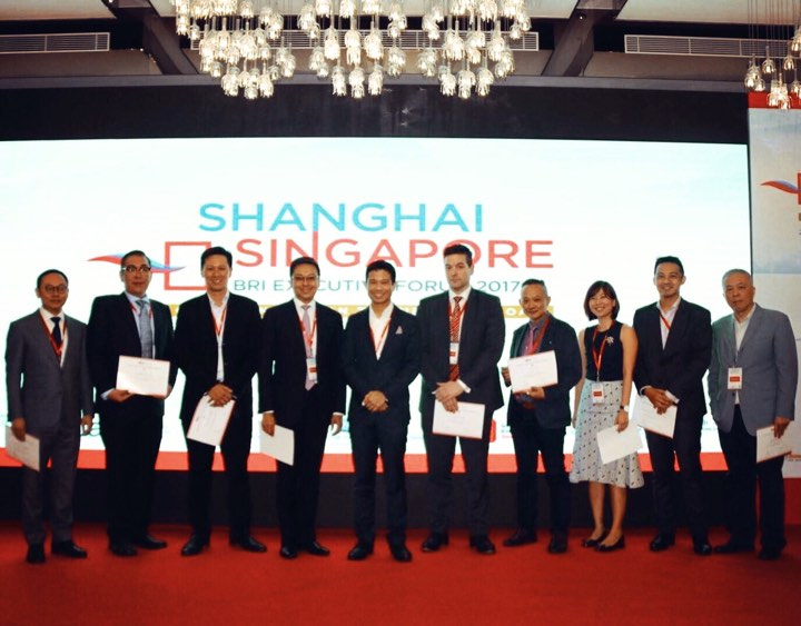 Y3 Technologies at the Belt Road Initiative (BRI) Executive Forum organized by the Singapore-Shanghai Business Association