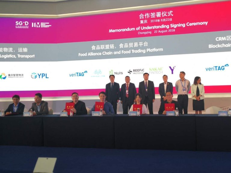Y3 Technologies signs MoU with veriTAG, Sakae Fintech, NULS, Reefic Protocol and Morpheus Labs to Establish International Food Blockchain Alliance
