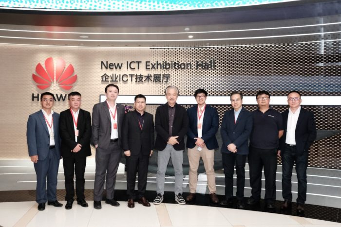 Y3 visited Huawei HQ ICT Exhibition Hall